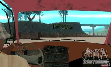 Saab 9000 pour GTA San Andreas vue arrière