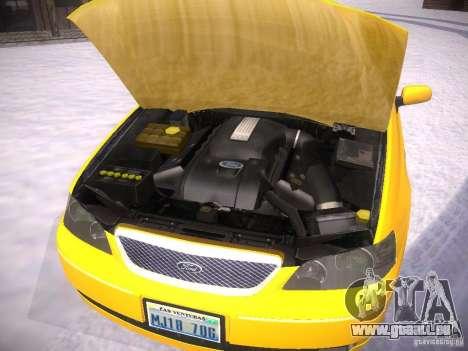 Ford Falcon für GTA San Andreas Seitenansicht
