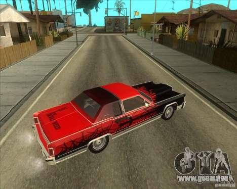 Lincoln Continental Town Coupe 1979 pour GTA San Andreas vue de droite