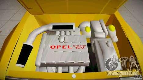Opel Kadett D GTE Mattig Tuning für GTA San Andreas obere Ansicht