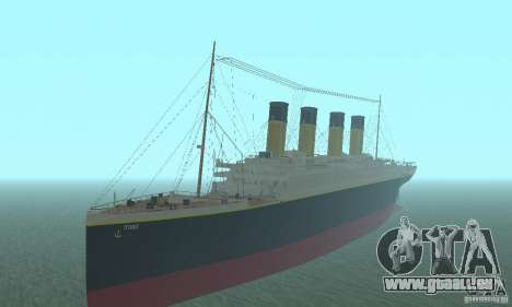 RMS Titanic pour GTA San Andreas