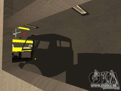 Garage de la GRC en fo pour GTA San Andreas quatrième écran