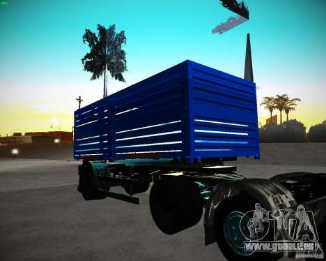KAMAZ 65117 Grain trailer für GTA San Andreas