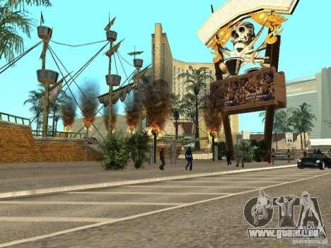 Neue Texturen für Casino Visage für GTA San Andreas