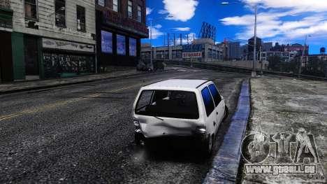VAZ 1111 Oka für GTA 4 Innenansicht