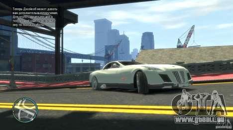 Maybach Exelero für GTA 4 linke Ansicht