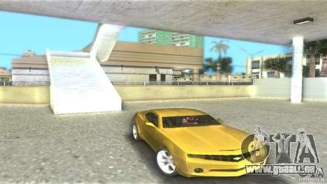 Chevrolet Camaro für GTA Vice City Rückansicht