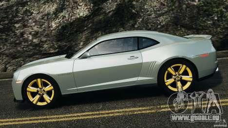 Chevrolet Camaro ZL1 2012 v1.2 pour GTA 4 est une gauche