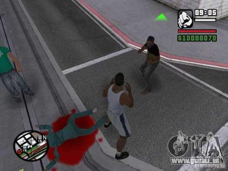 Vous ne pouvez pas battre les femmes 2.0 pour GTA San Andreas deuxième écran