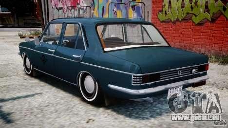Peykan 1348 1970 pour GTA 4 est une vue de dessous