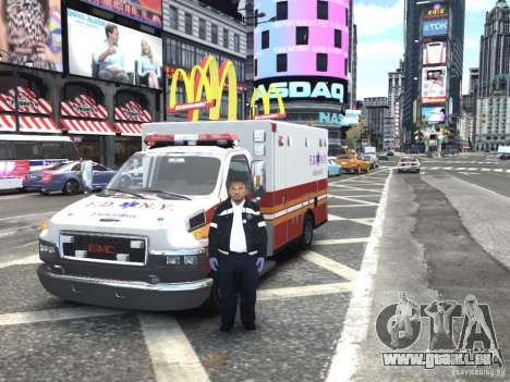 GMC C4500 Ambulance [ELS] pour GTA 4