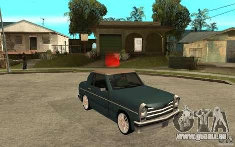 Perenial Coupe für GTA San Andreas Rückansicht