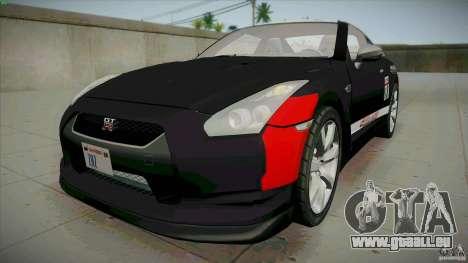 Nissan GT-R  AMS Alpha 12 pour GTA San Andreas