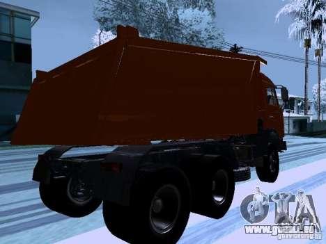KAMAZ 54115 camion pour GTA San Andreas vue de droite
