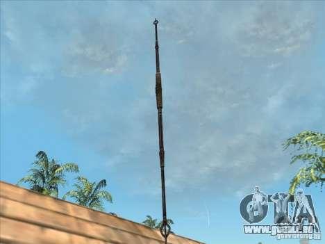 La lance de Predator pour GTA San Andreas deuxième écran