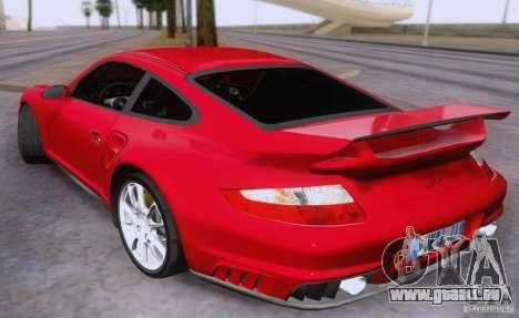 Porsche 911 GT2 pour GTA San Andreas laissé vue