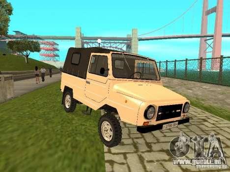 LuAZ 969 m pour GTA San Andreas