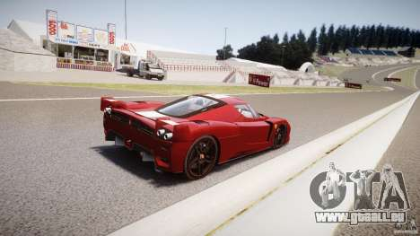 Ferrari FXX pour GTA 4 est une vue de dessous