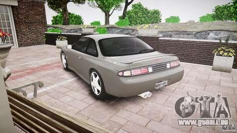 Nissan 200SX pour GTA 4 Vue arrière de la gauche