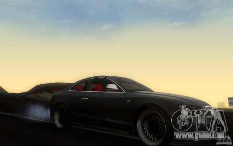 Audi S5 Black Edition für GTA San Andreas Innenansicht