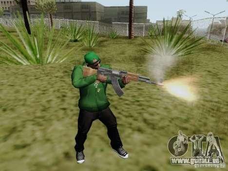 AK-47 de Saints Row 2 pour GTA San Andreas deuxième écran