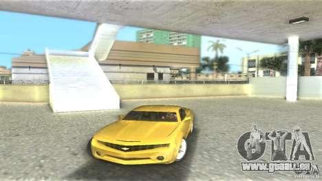 Chevrolet Camaro pour GTA Vice City