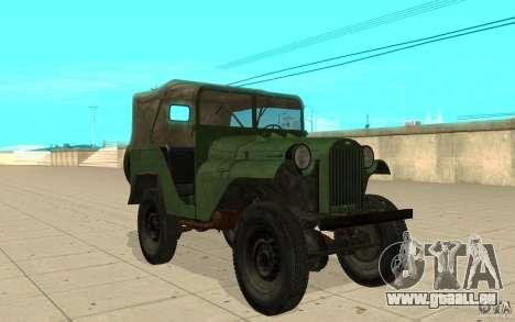 GAZ-64 Haut 1 für GTA San Andreas