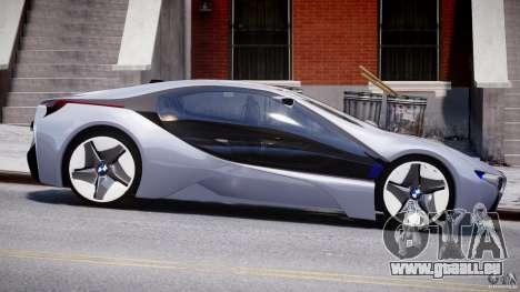 BMW Vision Efficient Dynamics v1.1 für GTA 4 Innenansicht