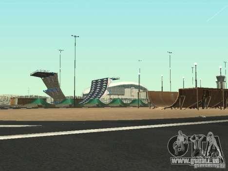 Drift track and stund map pour GTA San Andreas deuxième écran