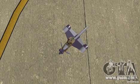 Flying Fish pour GTA San Andreas vue de droite