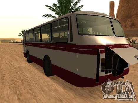 LAZ 695 pour GTA San Andreas sur la vue arrière gauche
