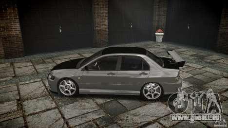 Mitsubishi Lancer Evolution VIII v1.0 pour GTA 4 est une vue de l'intérieur