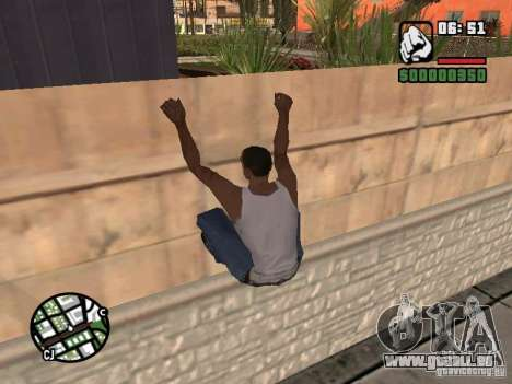 PARKoUR für GTA San Andreas her Screenshot