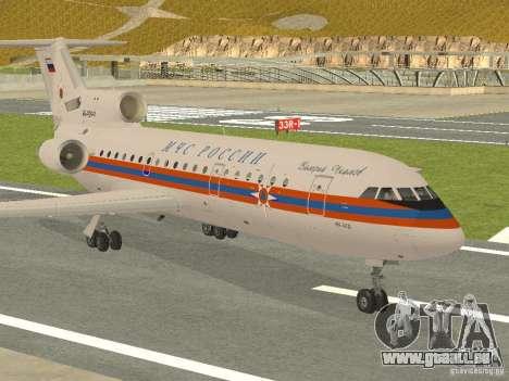 Yak-42 EMERCOM de Russie pour GTA San Andreas