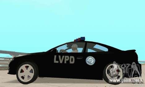 Pontiac GTO 2004 Cop pour GTA San Andreas vue de droite
