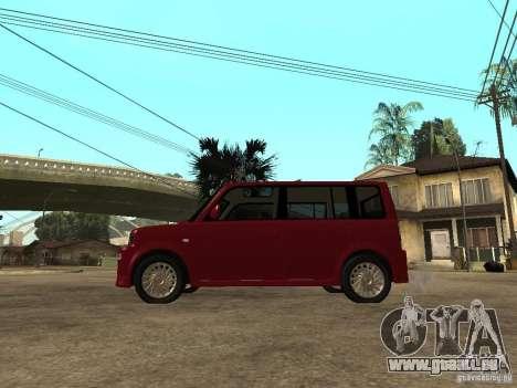 Toyota BB pour GTA San Andreas laissé vue