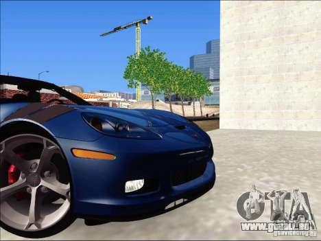 Chevrolet Corvette Grand Sport Cabrio 2010 pour GTA San Andreas vue arrière
