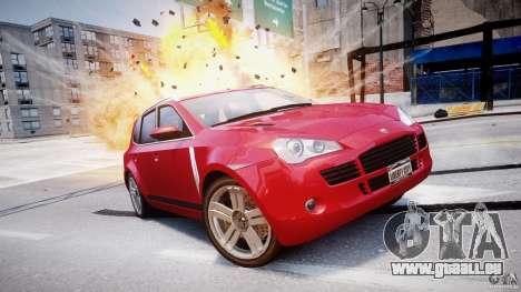 PFISTER für GTA 4 Rückansicht