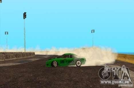 Nouvelle piste pour Drifter pour GTA San Andreas troisième écran