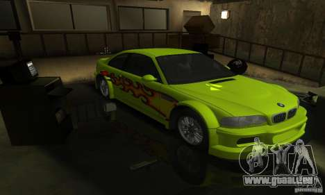 BMW M3 Tuneable pour GTA San Andreas roue