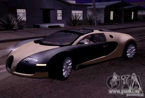 Bugatti Veyron Grand Sport Classic Final pour GTA San Andreas laissé vue