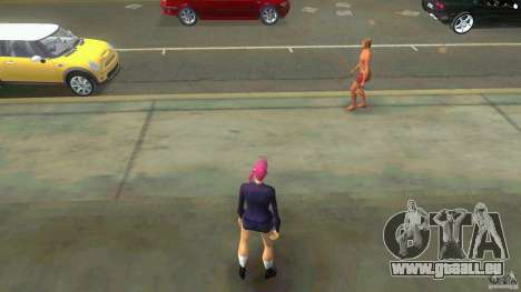 Girl Player mit 11skins für GTA Vice City
