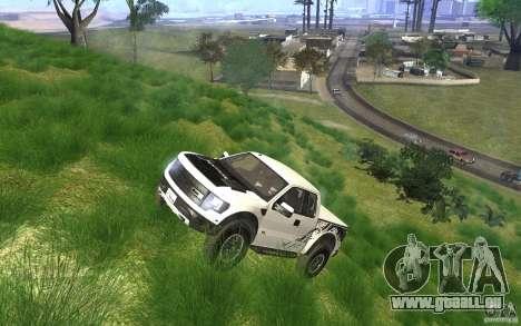 Ford F150 SVT RapTor für GTA San Andreas Unteransicht