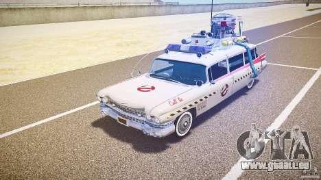 Ecto-1 (Ghost Hunters) Finale für GTA 4 linke Ansicht