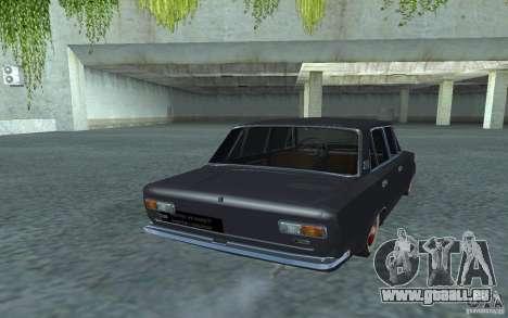 Vaz-2101 Style rétro pour GTA San Andreas sur la vue arrière gauche