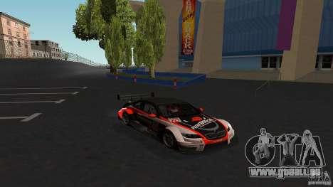 BMW E92 M3 für GTA San Andreas Rückansicht
