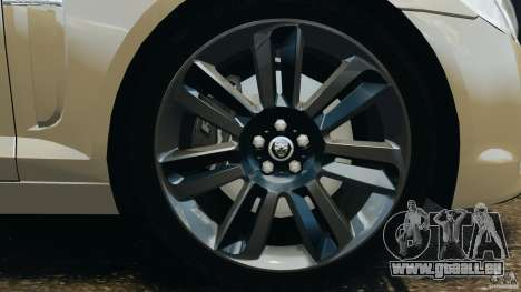 Jaguar XFR 2010 v2.0 für GTA 4 Innen