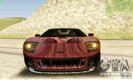 Ford GTX1 Roadster V1.0 pour GTA San Andreas vue de côté