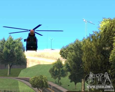 Cops Hoddogeres für GTA San Andreas rechten Ansicht