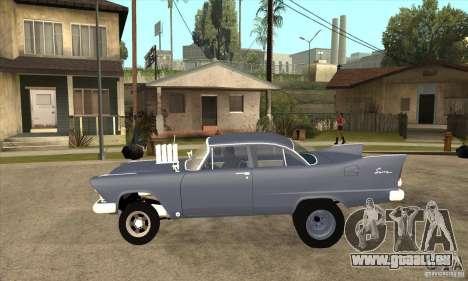 Plymouth Savoy Gasser 1957 für GTA San Andreas linke Ansicht